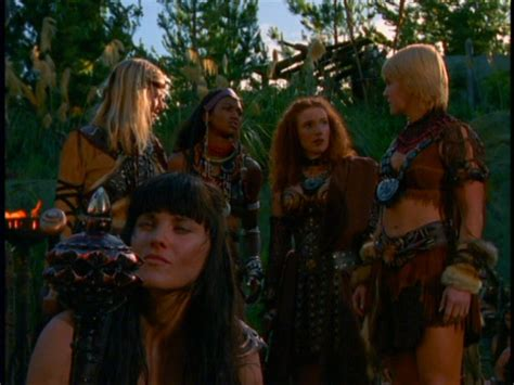to helicon and back the xena warrior princess and