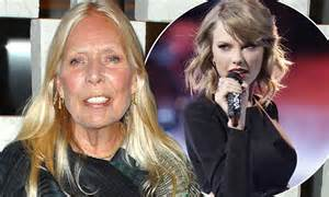 joni mitchell squelches taylor swifts chance  star