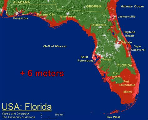phillip 39 s natural world florida most at risk from sea