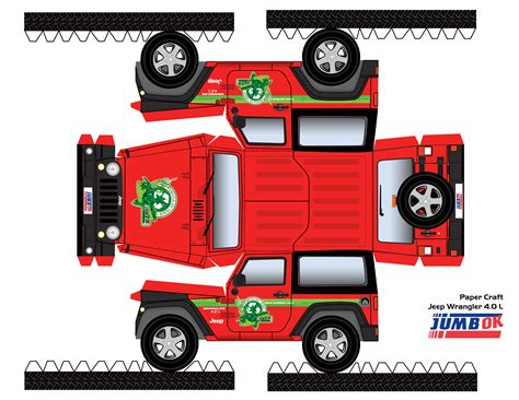 jeep box car jeep paper pinteres