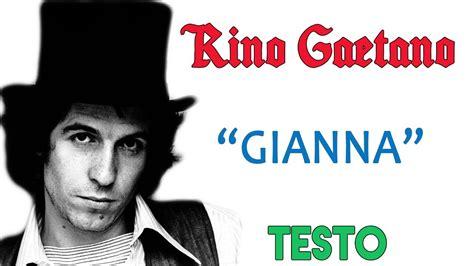 Rino Gaetano Testo - rino gaetano lyrics testo ᴴᴰ