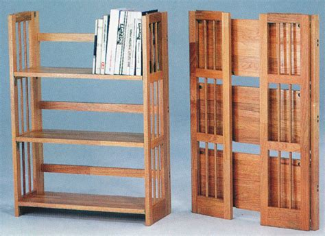 Fold Up Bookcase by Bookshelves Bookcases Designs