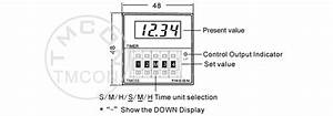 Tmc5s Dh48s H5cn Tmcon Din 48 48mm Led Display Digital