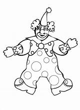 Clown Coloring Scary Face Evil Drawing Happy Colour Clipart Clowns Circus Drawings Printable Sheets sketch template