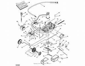 Dr Power Em5 2  Cordless Lawn Mower Parts Diagram For Deck