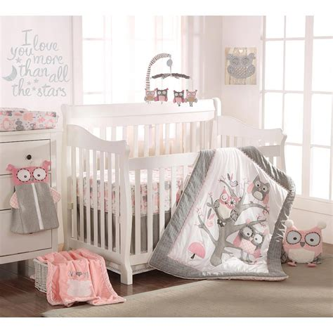 Nursery Best Nursery Bedding Set With Cute Owl Crib