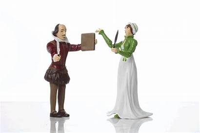 Jane Shakespeare Austen Action William Pop Figures