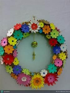 Fomic Flower Decoration - Crafts Maheen Ahmad Touchtalent
