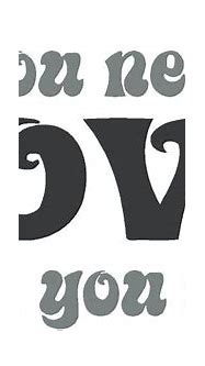 All You Need Is Love Decal - Trading Phrases