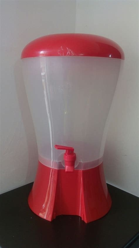 dispensador de aguas  litros bebidas despachador euro