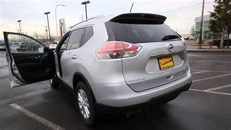 silver nissan rogue 2014 2014 nissan rogue sv brilliant silver metallic