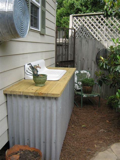 outdoor kitchen sinks ideas 17 best images about basin blues outdoor garden sink 3871
