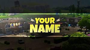 NEW FREE 2018 Fortnite Banner Template! - (Free Fortnite ...