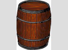 Clipart Barrel colour