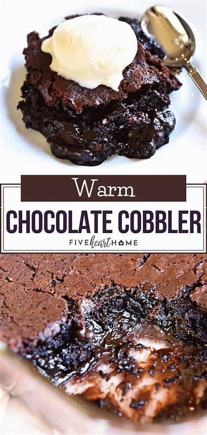 Warm Chocolate Cobbler Recipes Desserts Dessert Easy