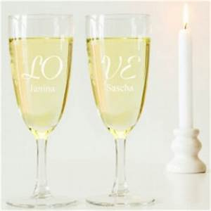 Sektgläser Hochzeit Gravur : gl ser mit gravur eine tolle geschenkidee zur hochzeit ~ Sanjose-hotels-ca.com Haus und Dekorationen
