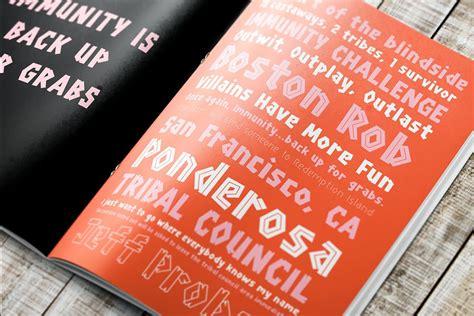 Survivor Wood Font   Stunning Display Fonts ~ Creative Market