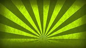 Rotating, Sunbeams, Green, Abstract, Motion, Background, Loop, Free