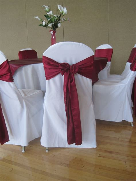 red and white wedding chair covers weddings wedding