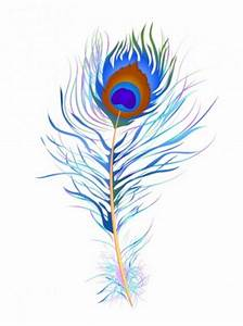Peacock feather (Watercolor) Free vector in Adobe ...