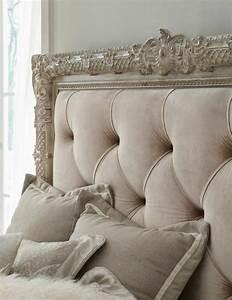 Lit Style Baroque : les meilleures variantes de lit capitonn dans 43 images ~ Nature-et-papiers.com Idées de Décoration