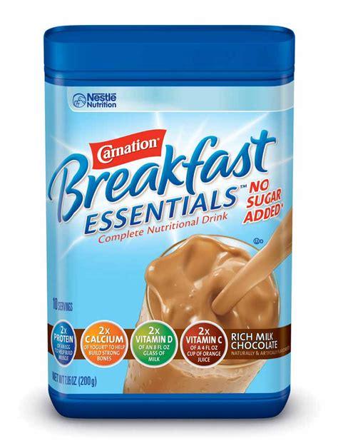 Amazon.com : Carnation Breakfast ESSENTIALS No Sugar Added