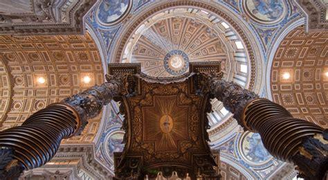 Baldacchino Di S Pietro by Il Baldacchino Di San Pietro E L Arcano Della Vita