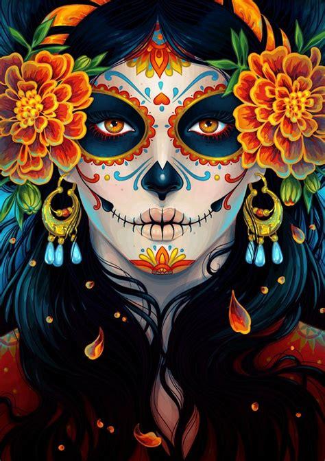 day of the dead artist dimora dia la muerta