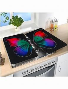 Scheibengardinen Set 2 Teilig : glas abdeckplatte butterfly set 2 teilig ~ Whattoseeinmadrid.com Haus und Dekorationen