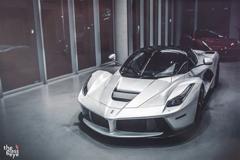 White Ferrari LaFerrari Is Supreme Eye Candy - autoevolution