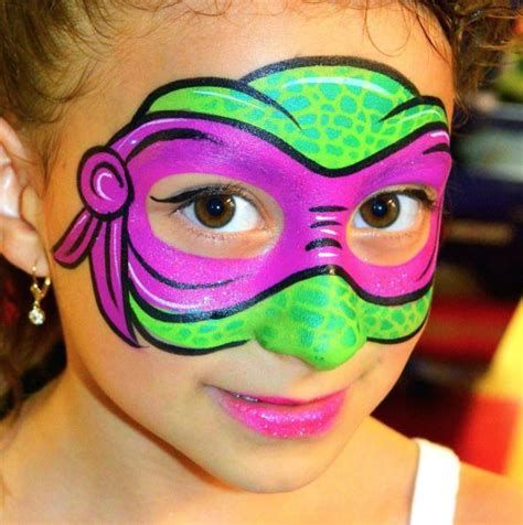 kids face paints ideas  pinterest halloween
