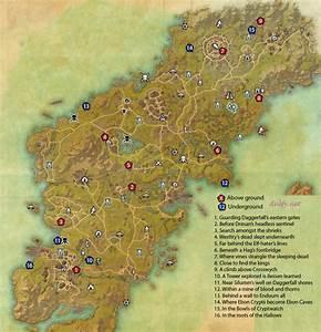 Skyshard Eso Locations Map newhairstylesformen2014 com