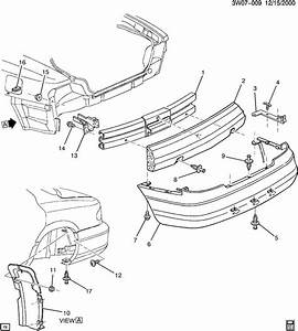 Oldsmobile Intrigue Shield  Front And Rear Bumper  Fascia