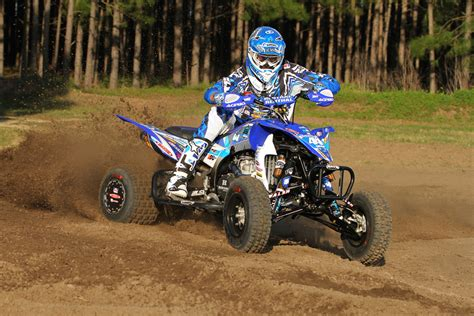 ama motocross riders yamaha grows participation at ama atv motocross series