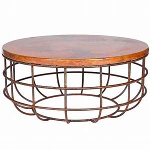 twi pm 2m5 f 543a 3jpg With round hammered metal coffee table