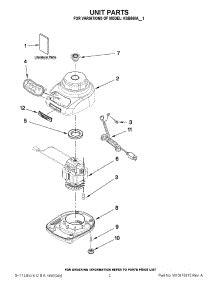 Kitchenaid Mixer Parts Edmonton by Kitchenaid Replacement Parts Blender Home Decor