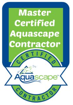 Certified Aquascape Contractor by Pond Waterfall Contractor Builder Deland Daytona Orlando