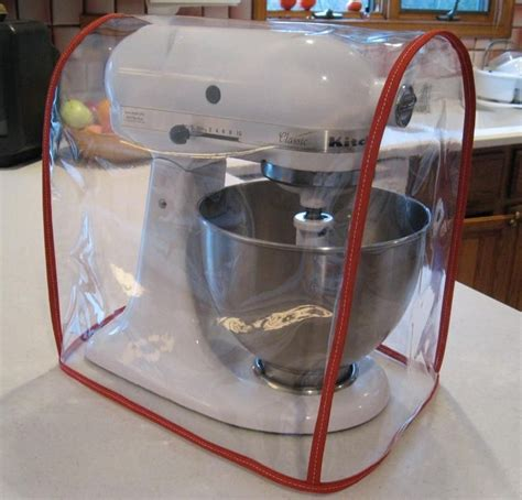 custom kitchenaid mixers details  clear mixer cover