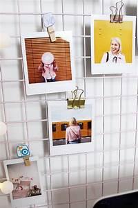 Wand Mit Fotos Dekorieren : diy fotowand selber machen schreibtisch deko basteln ~ Markanthonyermac.com Haus und Dekorationen