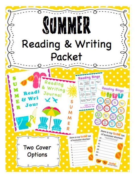 Summer Reading & Writing Packet Httpwwwteacherspayteacherscomproductsummerreading