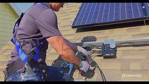 Iq 6  Microinverter Installation - Enphase Energy - 2016