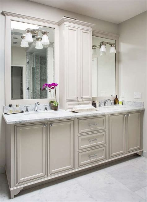 masterbath vanities gorgeous master bathroom features a light grey