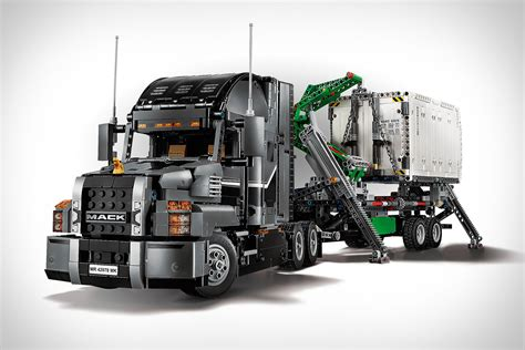 technic truck technic 2 in 1 mack truck uncrate