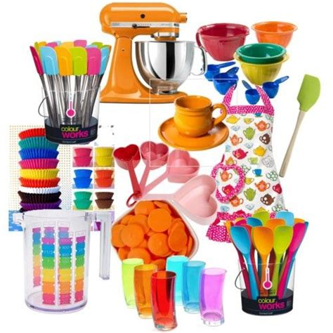 Colorful Kitchen Accessories  Moms And Moosies  Pinterest