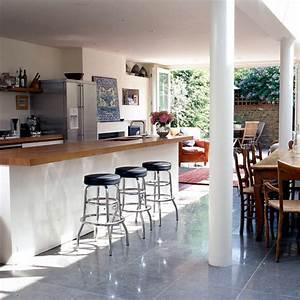 Open, Dining, Room, With, Adjoining, Kitchen