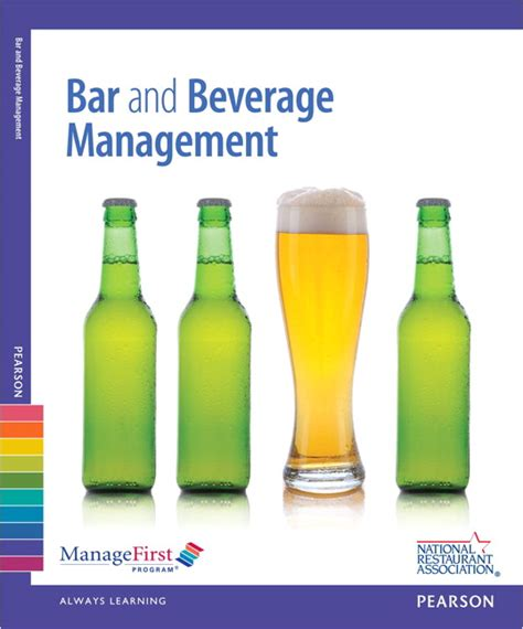 am駭agement bar cuisine national restaurant association managefirst bar and beverage management with answer sheet pearson