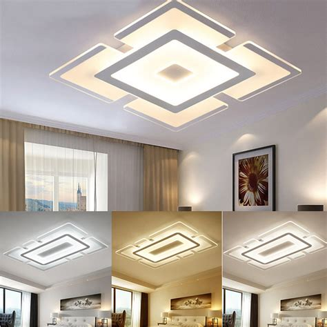 Led Lights For Room Where To Buy by Modern Square Acrylic Led Ceiling Light Living