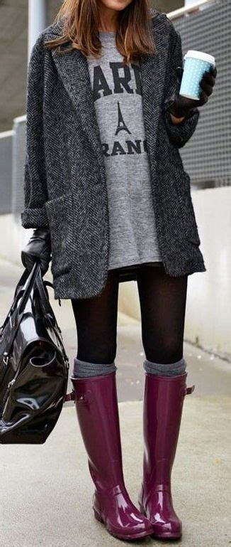 25+ best ideas about Rainy Day Outfits on Pinterest   Rainy day fashion Rain outfits and Rainy ...