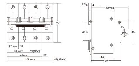 Ekm Mini Circuit Breaker Types China Zhejiang