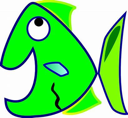 Fish Clker Clip Clipart Domain Vector